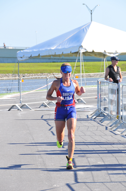 Kerry wins the FIT Tri