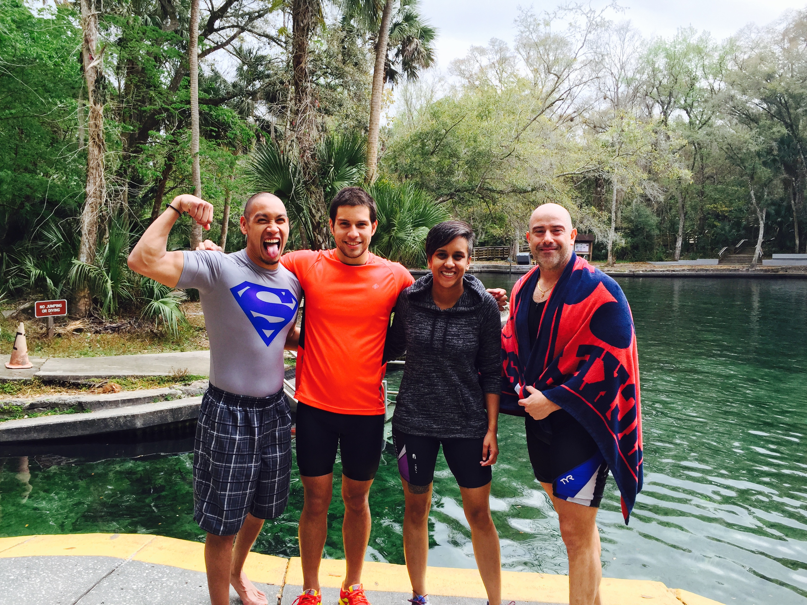 KST group swim at Wekiva